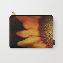 Flaming Sunflower Carry-All Pouch
