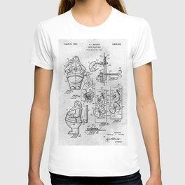 Santa Claus bank T-shirt