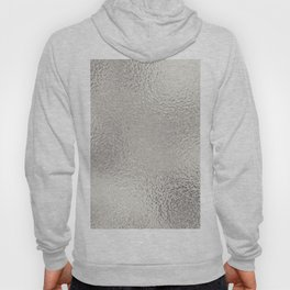 Simply Metallic in Silver Hoody