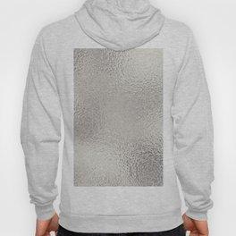 Simply Metallic in Silver Hoody