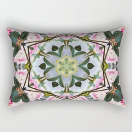 northern leaves and pink roobios Rectangular Pillow