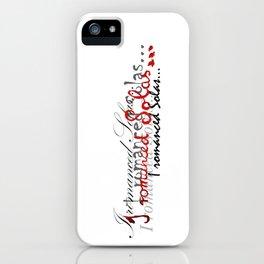 Romanced iPhone Case