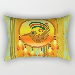 BirdCatcher Rectangular Pillow