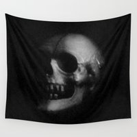 death Wall Tapestries featuring Death by Jack O'Dowd