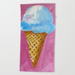 Ice Cream cone Beach Towel