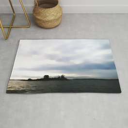 Undestructed views Rug
