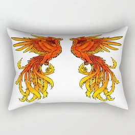 Phoenix #4 Rectangular Pillow
