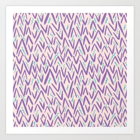 Abstract Pattern 4 Art Print