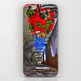 Graffiti Tunnel iPhone Skin