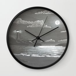 Quiet Night Wall Clock