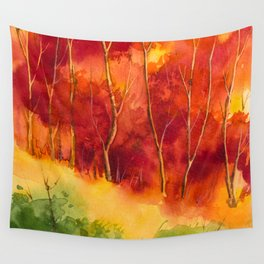 Autumn scenery #16 Wall Tapestry