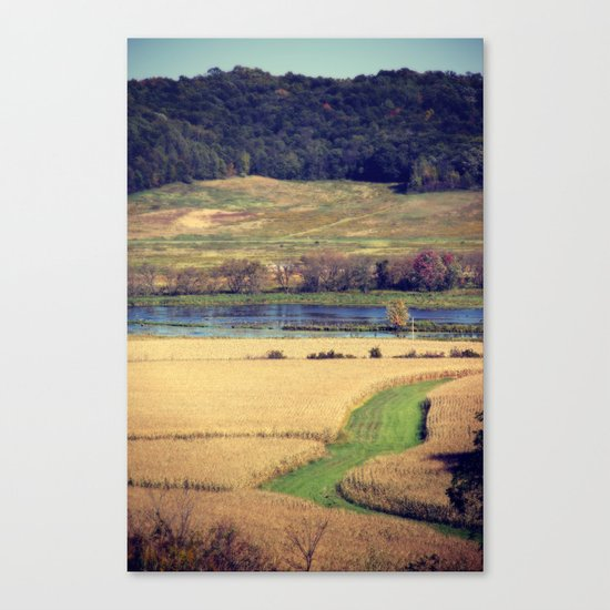 Picture Book Canvas Print
