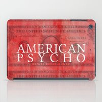 american psycho iPad Cases featuring American Psycho by Robert Payton
