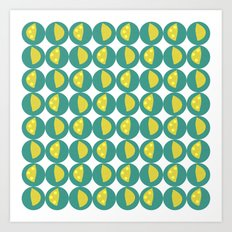 Lemon Zest Art Print