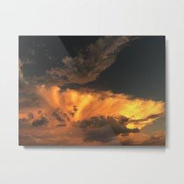 those clouds Metal Print