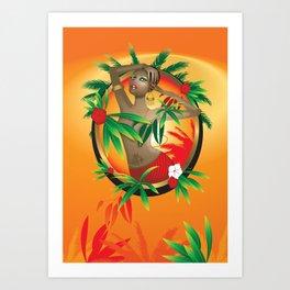 Hot Summer Art Print