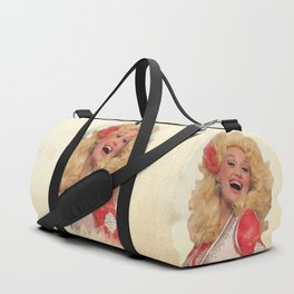 Dolly Parton - Watercolor Duffle Bag