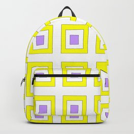 Tribute to mondrian 8- piet,geomtric,geomtrical,abstraction,de  stijl, composition. Backpack