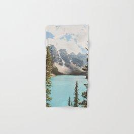 Moraine Lake II Banff National Park Hand & Bath Towel
