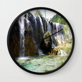 Sunny Cascade Wall Clock