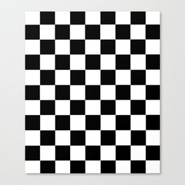 Checkerboard Canvas Print