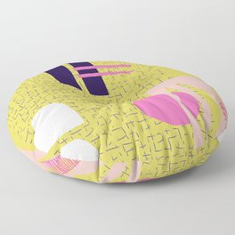 The Shape of Things to Come Floor Pillow