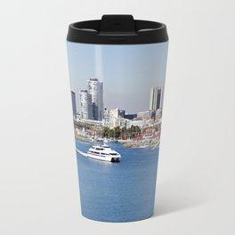 Shoreline Village in Long Beach, California Travel Mug