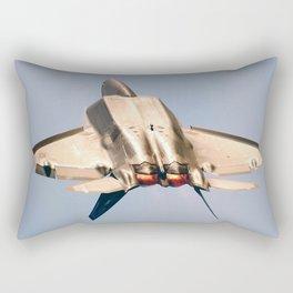 Aviation F-22 Raptor Air Show USAF Rectangular Pillow