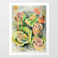 A day with green  Art Print