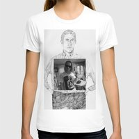 ryan gosling T-shirts featuring Ryan Gosling wearing Macaulay Culkin wearing Ryan Gosling wearing Macaulay Culkin  by withapencilinhand