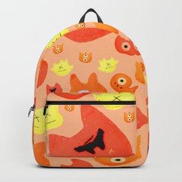 Monster faces Backpack