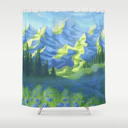 EXPRESSION OF NATURE Shower Curtain