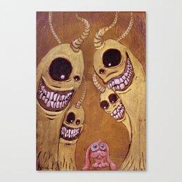 Intimidación Canvas Print