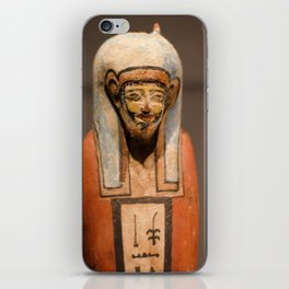 Statuette iPhone Skin