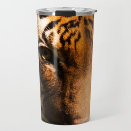 Tiger Face Travel Mug