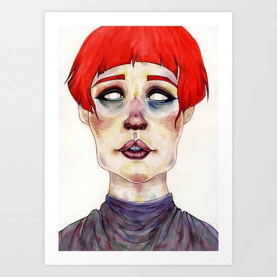 Riza Art Print