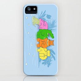 Not So Hungry Anymore iPhone Case