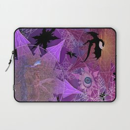 Snowflakes and Dragons Laptop Sleeve