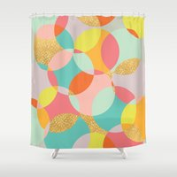 fancy Shower Curtains featuring Fancy by K&C Design