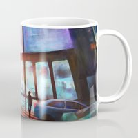 cityscape Mugs featuring Cityscape by Laurens Spruit