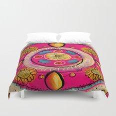 Happy Mandala Duvet Cover