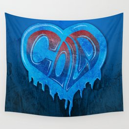 Cold Hearted Wall Tapestry