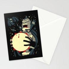Vampirebot bites the Sun Stationery Cards