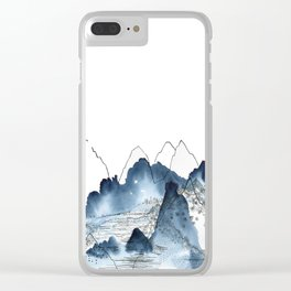 Love of Mountains Clear iPhone Case