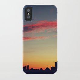 summer skylines iPhone Case