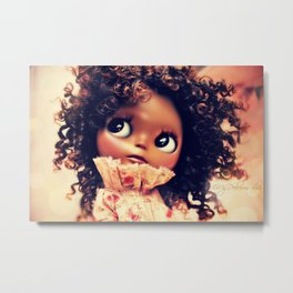My Delicious Bliss Custom Evangeline Metal Print