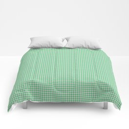 Emerald Gingham Comforters