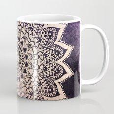 GOLD NIGHTS MANDALA IN PURPLE Coffee Mug