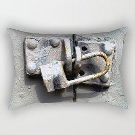 Lock Up  Rectangular Pillow