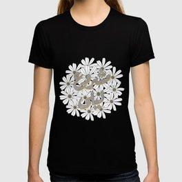 Mashrou' Leila Band Floral Logo T-shirt